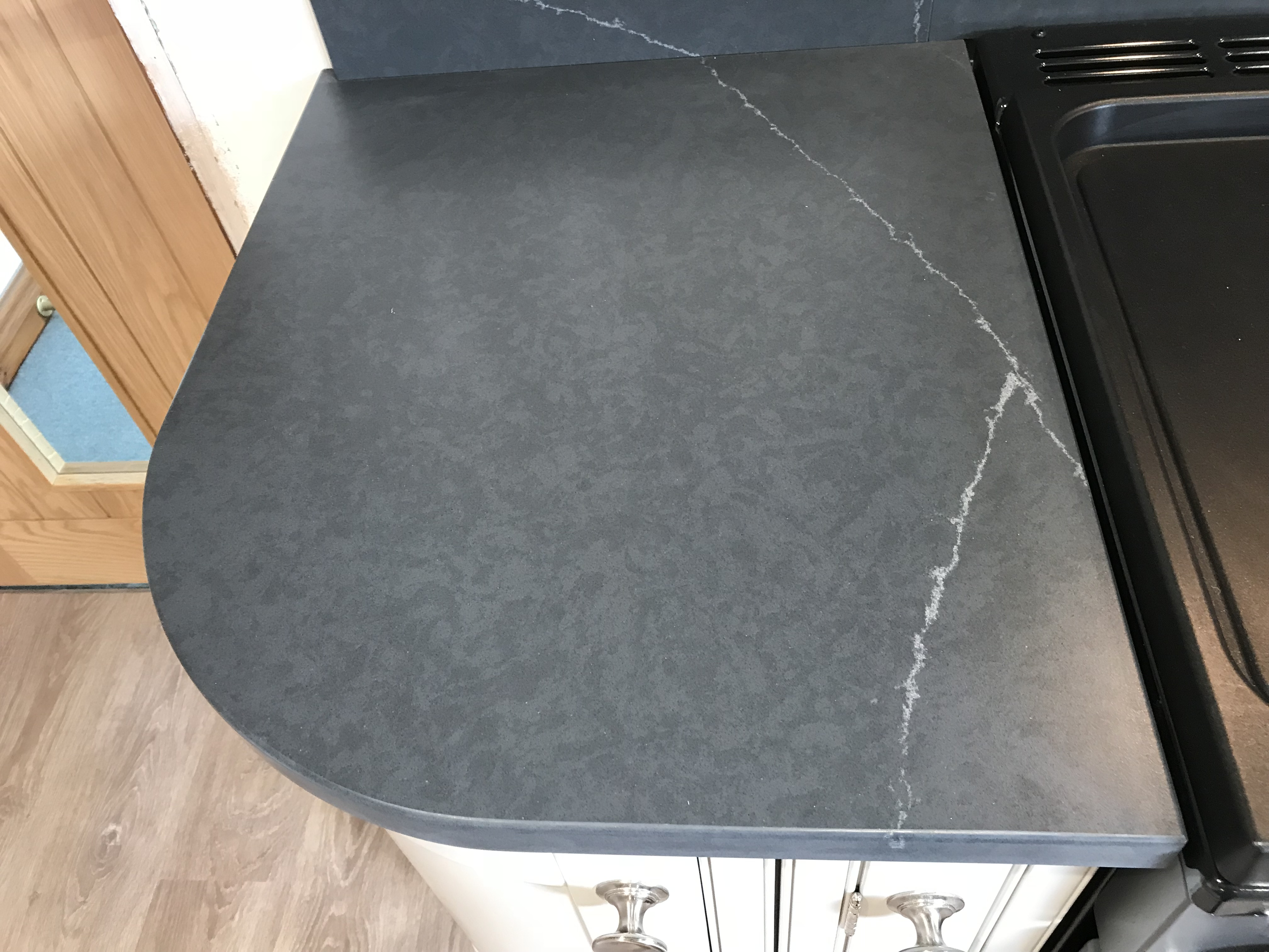 New Eternal Charcoal Soapstone Surfaces Caldew Kitchens